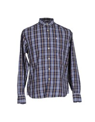 Jaggy Shirts Dark Blue