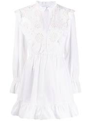 Dondup Embroidered Flared Dress 60