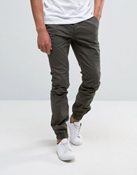 French Connection Cuffed Stretch Skinny Chino Green