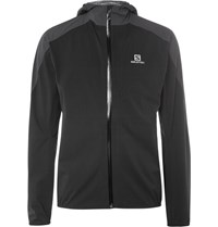 Salomon Alomon Bonatti Advancedkin Hell Running Jacket Black