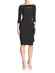 La Petite Robe Di Chiara Boni Kate Boatneck Dress Black