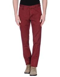 Reporter Casual Pants Maroon