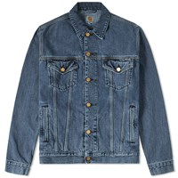 Carhartt Western Denim Jacket Blue