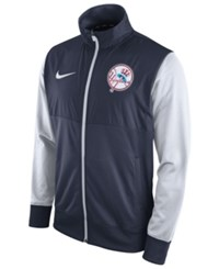 Nike Men's New York Yankees Track Jacket Navy White