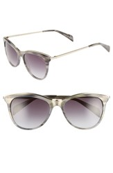 Draper James 56Mm Cat Eye Sunglasses Grey