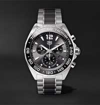 Tag Heuer Formula 1 Chronograph 43Mm Stainless Steel Watch Ref. No. Caz1011.Ba0843 Black