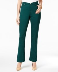 Lee Platinum Petite Gwen Straight Leg Jeans Fir