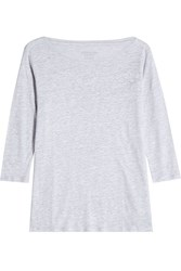 Majestic Linen And Silk T Shirt Gr. 1