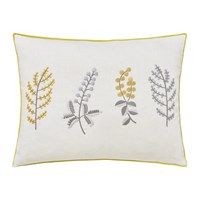 Sanderson Paper Doves Embroidered Cushion Mineral 30X40cm