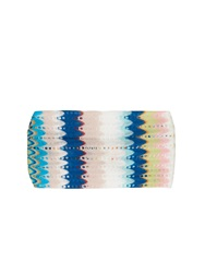 Missoni Mare Lace Stripe Knit Headband
