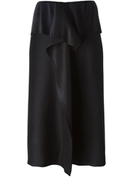 Issey Miyake Draped Front Pleated Skirt