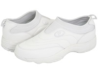 Propet Wash Wear Slip On White Women's Shoes