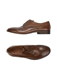 Maldini Lace Up Shoes Dark Brown