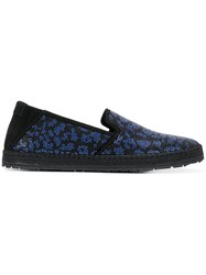 Roberto Cavalli Slip On Sneakers Black