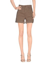 .. Merci Trousers Shorts Women Khaki
