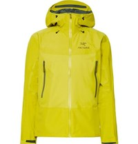 Arc'teryx Beta Sl Hybrid Gore Tex Hooded Jacket Chartreuse