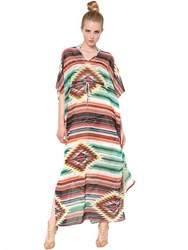 Lenny Niemeyer Printed Techno Jersey Cover Up Dress