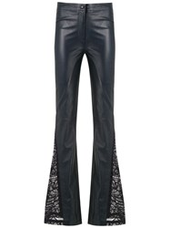 Martha Medeiros Fatima Flared Trousers Blue