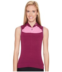 Louis Garneau Beeze 2 Sleeveless Magenta Purple Heather Pink Women's Sleeveless
