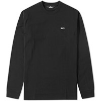 Undefeated Embroidered Jersey Crew Sweat Black