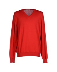 Cooperativa Pescatori Posillipo Knitwear Jumpers Men Red
