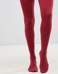 Gipsy 100 Denier Luxury Opaque Tights Red