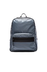 Maison Martin Margiela Zip Backpack In Blue