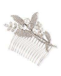 Jennifer Behr Isa Floral Chignon Comb Crystal
