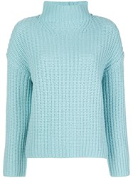 Vince High Neck Ribbed Sweater 60