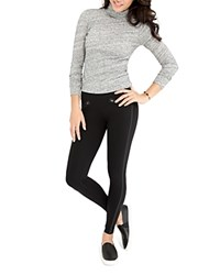 Spanx Everywear Zip Pocket Leggings Very Black