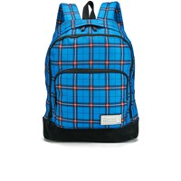 Marc By Marc Jacobs Men's Printed Thomas Plaid Ultimate Directoire Backpack Blue Multi