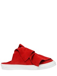 Ports 1961 20Mm Layered Suede Mule Sneakers