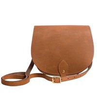 N'damus London Saddle Bag Tan Brown