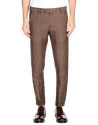 Exibit Casual Pants Dark Brown