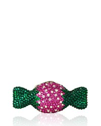 Judith Leiber Strawberry Candy Crystal Minaudiere Multi Women's Multi Colors
