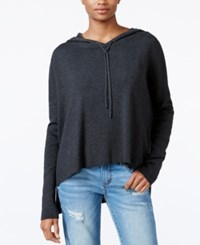 Rachel Roy High Low Hooded Sweater Only At Macy's Charcoal