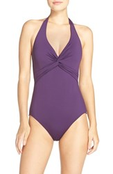 Tommy Bahama Women's 'Pearl' Halter One Piece Swimsuit