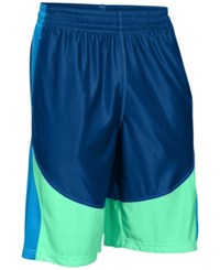 Under Armour Men's Mo Money Basketball Shorts Royal Mint