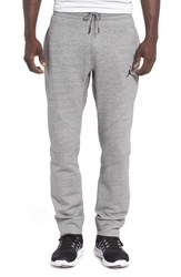 Nike Jordan Wings Fleece Pants Carbon Heather Black