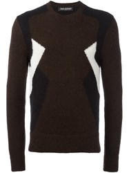 Neil Barrett 'Retro Modernist 'Jumper Brown