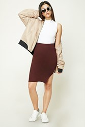 Forever 21 Ribbed Knit Pencil Skirt
