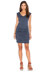 Velvet By Graham And Spencer Danika Gauzy Whisper Dress Slate