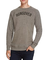 Kid Dangerous Hungover Sweatshirt Med Gray