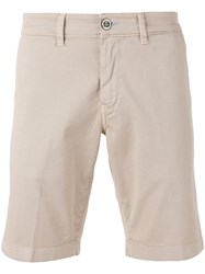 Re Hash Bermuda Shorts Nude Neutrals