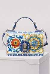 Dolce And Gabbana Lucia Top Handle Bag