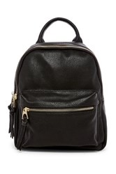 Urban Expressions Ace Vegan Leather Backpack Black