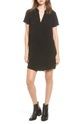 Lush Women's Hailey Crepe Dress Black