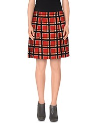 Marc By Marc Jacobs Skirts Knee Length Skirts Women Red