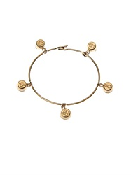 Aurelie Bidermann Fine Jewellery Bells Yellow Gold Bracelet