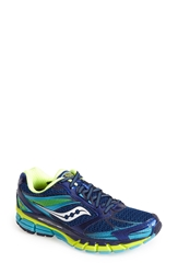 Saucony 'Guide 8' Running Shoe Women Blue Navy Yellow